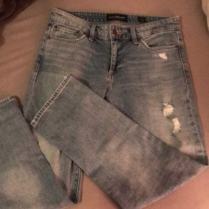 "Lucky brand ""sweet crop"" jeans"